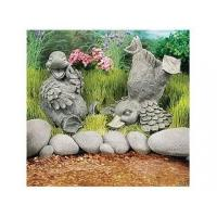 Wholesale Polyresin Statues Resin Sitting Laughing Duck Statue from china suppliers