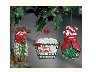 Quality Polyresin Ornaments Polyresin Golf Fore Christmas Ornaments for sale