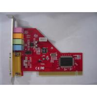 Add on Card Mode Number:Creative 1373 4.1 sound cardProduct Creative 1373 4.1 sound cardSpecification:* System Interface * 32bits PCI Bus Master * PCI12.1,PCI12.2 compliant * Provides audio fidelity that rivals movie theaters with 4-ch digital sou for sale