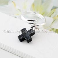 Buy cheap Black Cross Jewelry Rings Cheap from wholesalers