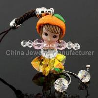 Buy cheap Orange Girl Phone Straps Charms from wholesalers