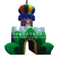 Inflatable advertisement castle