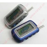 China FM Two-way LCD Car Alarm With Engine Starter on sale
