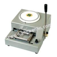 Wholesale Embossing and tipping serial  WL-2000 PVC Card Embossing Machine from china suppliers