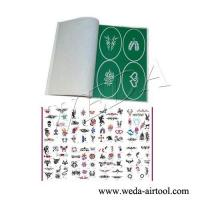 Wholesale Airbrush Tattoo Stencil and Ink 1 from china suppliers