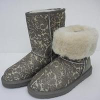 Wholesale Grey Short Paisley Boots 5831 from china suppliers
