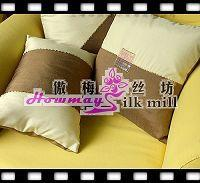 China silk bedding and sleepwear Silk Cushion Cover on sale