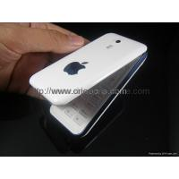 Wholesale iPhone Q300 flip mobile phone two sim cards metal body from china suppliers