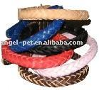 China Leather Dog Collars (24)  Braided Leather Dog Collar - C-05 on sale