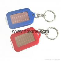 Wholesale 3 led Solar Flashlight Keychain from china suppliers