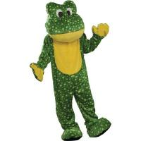 Wholesale Deluxe Plush Frog Mascot Adult Costume from china suppliers