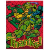 China Teenage Mutant Ninja Turtles Thank You Cards (8 count) on sale