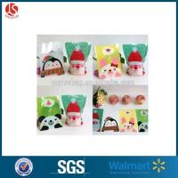 Wholesale Green Christmas Fruit Green Plastic Cellophane Bags Cartoon Christmas Eve Gift Bags Wholesale from china suppliers