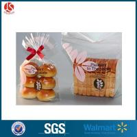Wholesale Wholesale Custom Printed Design Plastic Clear Plastic Bread Bag from china suppliers