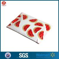China Green Watermelon Designer Poly Mailers Shipping Envelopes Boutique Custom Cello Bags on sale
