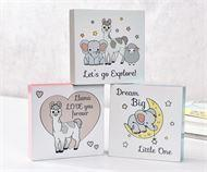 Wholesale Gift Lil' Llama Desk Blocks Decor, 12 Asst. w/Displayer from china suppliers