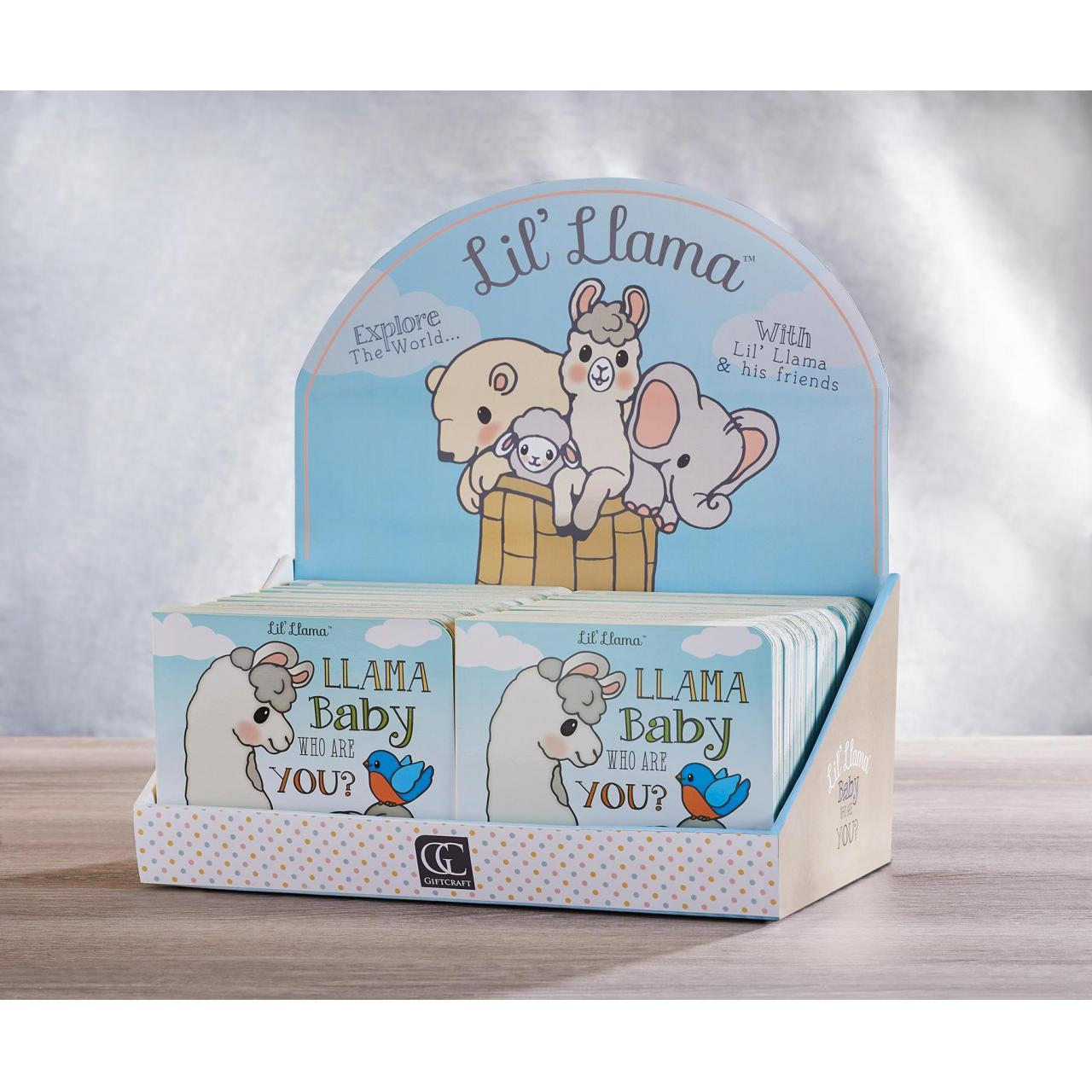 Wholesale Gift Lil' Llama Book, 18 Asst. w/Displayer from china suppliers