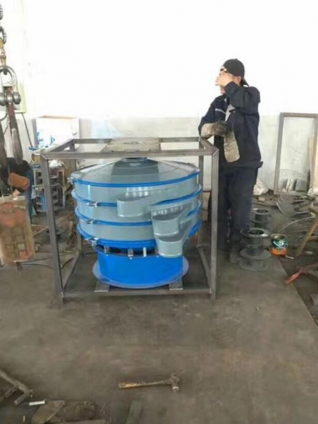 Quality China Tumbler screening machine for condiment with cylinder brush for sale