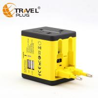 Wholesale Universal Travel Adapter Germany power plug with 2a usb charger multi outlet converter NT690&N6 from china suppliers