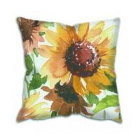 Wholesale Cushion Colourful Printing Cotton Canvas Cushion Cover from china suppliers