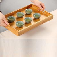 China Tea Trays Bamboo Tea Serveing Tray on sale