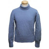 Aero Military RAF Comforts Committee Hand Knitted Sweater in Air Force Blue