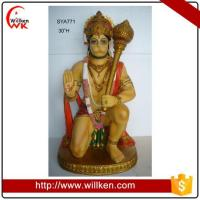 China Animal Statues wholesale hindu god Hanuman statue hindu god mold on sale