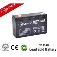 Wholesale Mf VRLA Emergency Lighting Battery 6V 10AH Factory from china suppliers