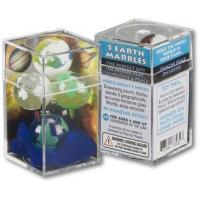 Promotional Gifts Cosmic Earth - Set of 5 Glass Marbles as low as: $14.26