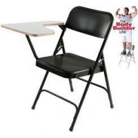 China Steel Folding Chair with Tablet Arm - 300 lb Capacity on sale