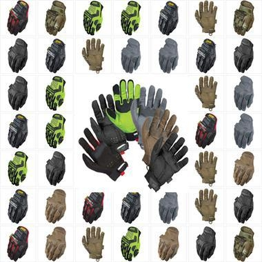 Quality Mechanix M-Pact Gloves (PAIR) - ALL COLORS, ALL SIZES for sale