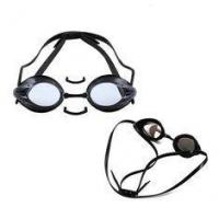 China Triathlon Swimming Goggles White Color , Prescription Water Goggles No Leaking on sale