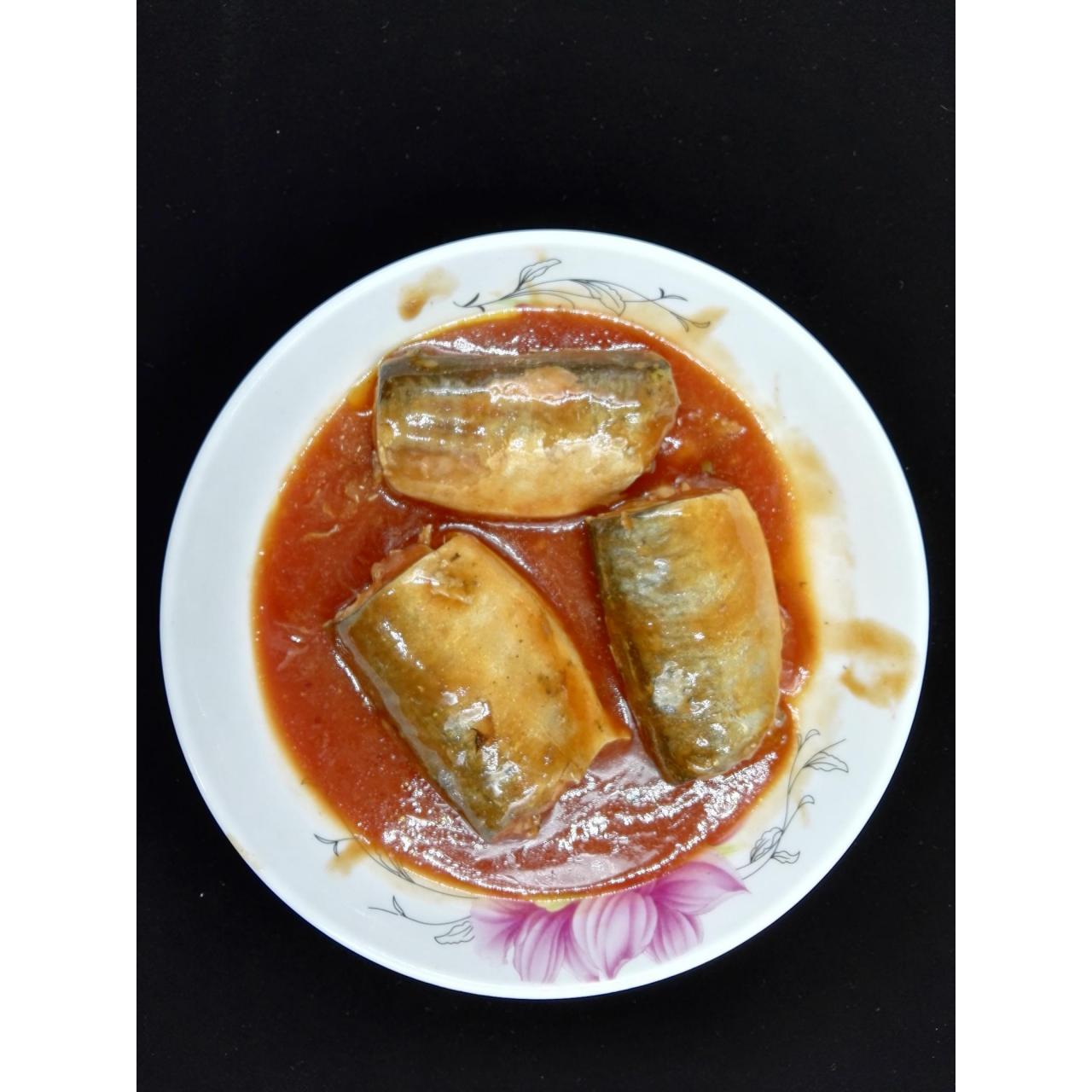 Wholesale Canned Seafoods Canned Pacific Mackerel In Tomato Sauce from china suppliers