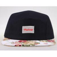 Buy cheap Blank 5 panel hat from wholesalers