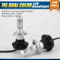 Buy cheap LED Car Headlights 7HL DUAL COLOR from wholesalers