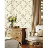 Buy cheap Embroidery flower wall cloth direct sales from wholesalers