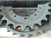 Buy cheap Industrial machinery Sprocket gear Components used for construction machinery from wholesalers