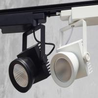 China 2 wires 3 wires 4 wires LED Track light 35w COB LED Track spot light CRI90 track lighting fixture on sale