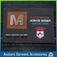 Hot Sale Wholesale Leather Patch Label for Garment