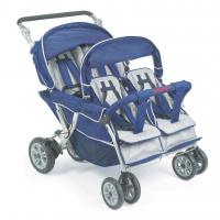 Buy cheap Bye Bye Stroller - 4 Seat (Incl. FREE Raincover), Quad Buggy, Pram for Four Babies from wholesalers