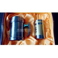 Quality English Titanium cup & tea caddy for sale