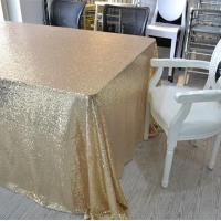 Wholesale Wedding Sequin Table Cloth from china suppliers