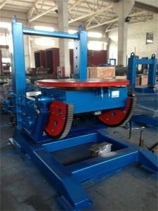 Quality Electric Lifting Welding Turn Table , Schneider Electric Controls System Rotating Welding Table for sale