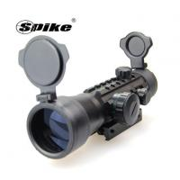 Tactical 2x42mm Tri-Rail Red & Green Dot Rifle Sight Scope Side Rails