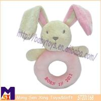 Buy cheap Baby Rattle Toys Plush Pink Bunny Soft Rattle for Babies from wholesalers
