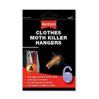 Clothes Moth Killer Hanger 4 Pack Product CodeARENT03101
