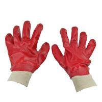 Wholesale PVC gloves Chemical resistant PVC coated working glove from china suppliers