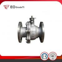China Manual Titanium Ball Valve with Limit Switch on sale