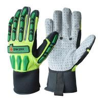 China Personal Protective Equipment knuckle protection mechanix gloves for oil and gas on sale