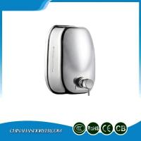 China Stainless Steel 304 Industrial Bathroom Soap Dispenser Large Capacity For Commercial Building on sale